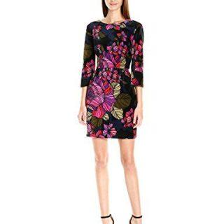 Trina Turk Women's Dazzling Astor's Garden Velveteen Dress