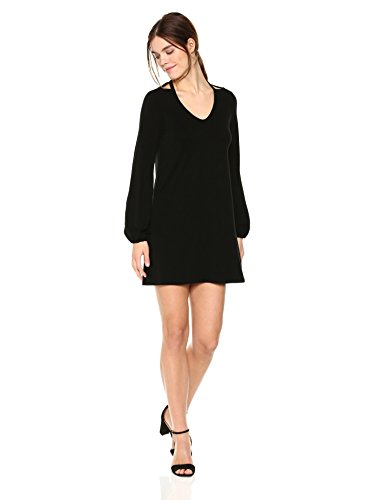 Michael Stars Women's Collection Long Sleeve Cut-Out Dress
