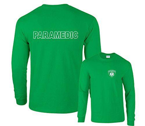 Fair Game Paramedic Long Sleeve T-Shirt-Irish-Large