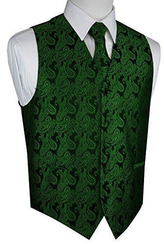 Brand Q Men's Formal Prom Wedding Tuxedo Vest
