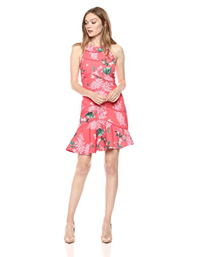 Keepsake The Label Women's Wild Thoughts Ruffle Hem Floral Mini Dress