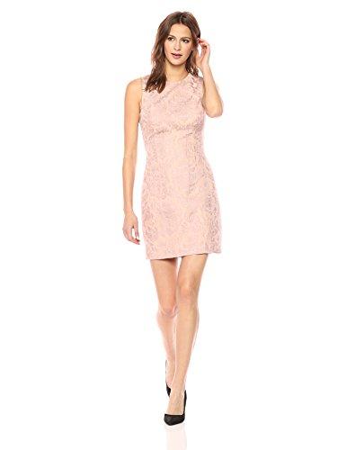 Theory Women's Hourglass Dress, Chalk Pink, 6