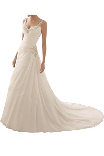 MILANO BRIDE Stunning Beach Wedding Dress For Women