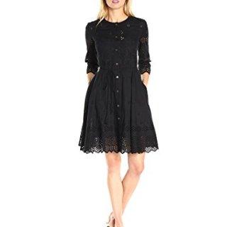 Theory Women's Kalsingas E Vintage Dress Black 2