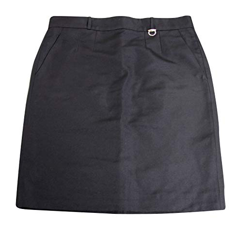 Gucci Pencil Black Polyester Cotton Skirt