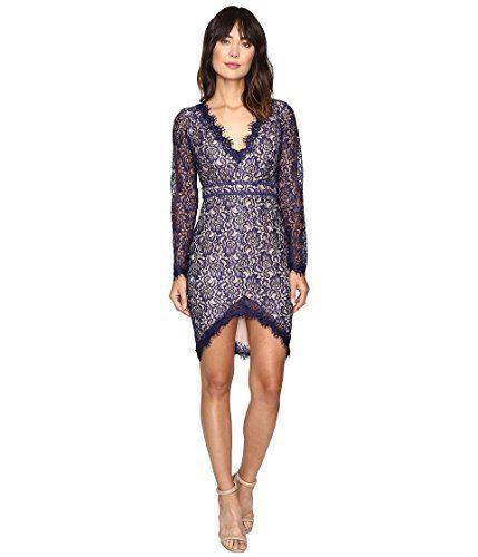 StyleStalker Women's Adelie Long Sleeve Dress