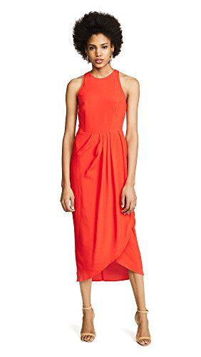 Yumi Kim Women's So Social Dress, Red, Small