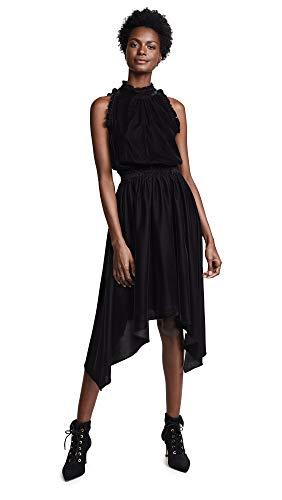Shoshanna Women's Lourdes Sleevless Dress, Jet 10