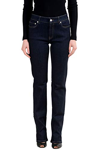 Gucci Blue Contour Fit Women's Jeans