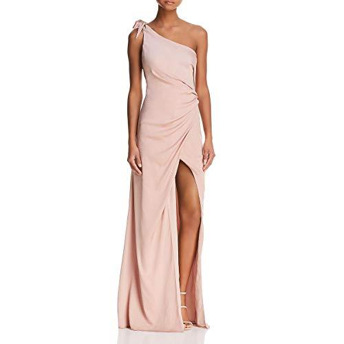 StyleStalker Womens Jordana One Shoulder Formal Evening Dress