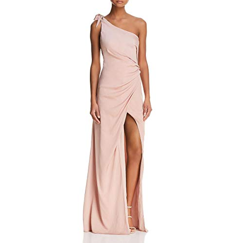 StyleStalker Womens Jordana One Shoulder Formal Evening Dress