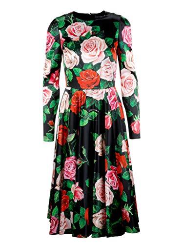 Dolce e Gabbana Women's Black Silk Dress