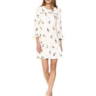 Shoshanna Women's Michie Long Sleeve Shift Dress