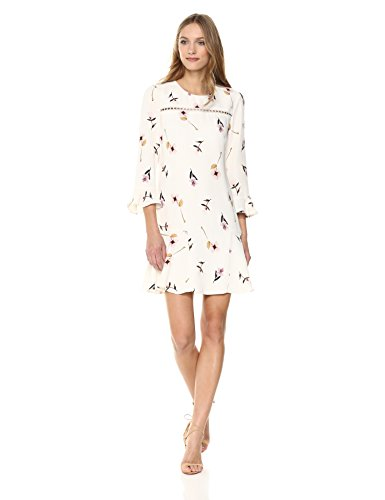 Shoshanna Women's Michie Long Sleeve Shift Dress