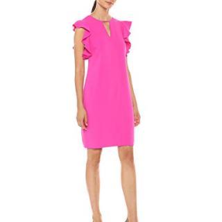 Trina Trina Turk Women's Hartley Cutout Front Shift Dress