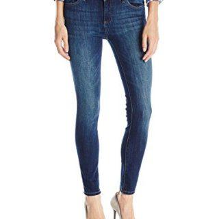 DL1961 Women's Margaux Instascuplt Ankle Skinny Jeans, Winter, 25