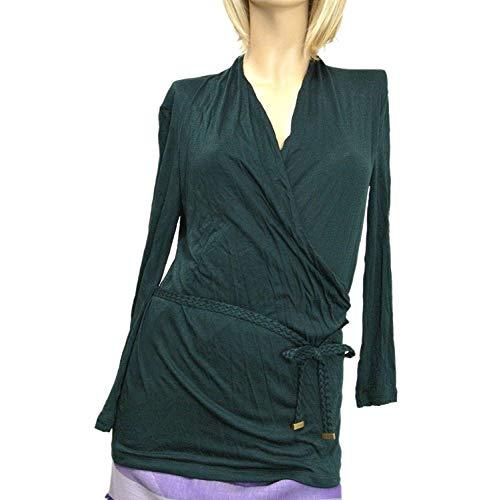 Gucci Women's Green Viscose Top Long Sleeve