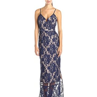 StyleStalker Women's Visions Lace Maxi Dress