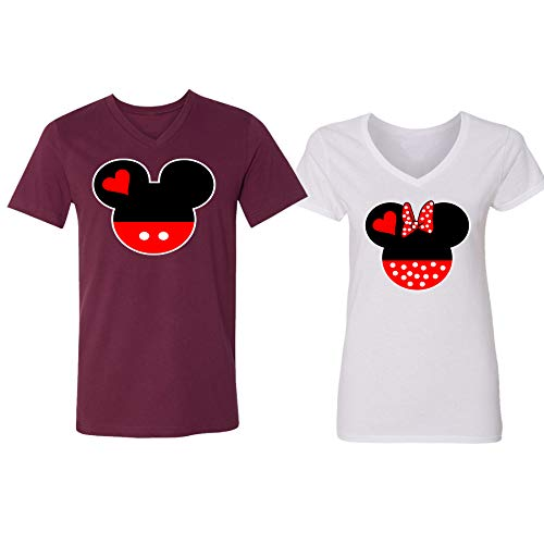 aba5a2225 Disney Mickey Minnie Mouse Head Family Couple Design · Home Shop Men  Clothing T-Shirts & Tanks ...