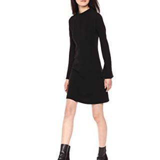 Theory Women's Long Sleeve Dolman Shift Dress