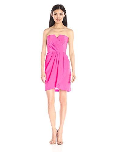 Yumi Kim Women's Date Night Silk Dress, Pink Medium