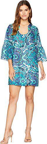 Trina Turk Women's Bonita Dress Sapphire