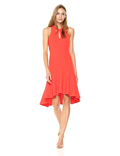 Trina Turk Women's Petal Dress, Ladybug 10