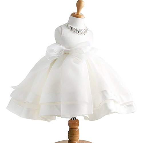 Baby Girl Dress Christening Baptism Gowns Sequined Formal Dress