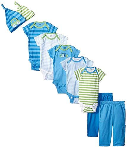 Gerber Baby-Boys Newborn Seriously Cute 9 Piece Bodysuits