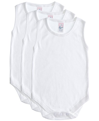 Soft Cotton Sleeveless Onesie Bodysuit