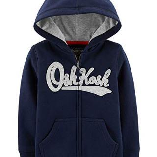 OshKosh B'Gosh Baby Boys' Logo Hoodie, Dark Blue