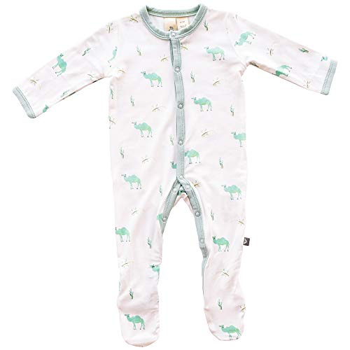 Kyte BABY Footies - Baby Footed Pajamas Made of Soft Organic Bamboo
