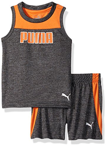 PUMA Baby Boys' 2 Piece Muscle Top & Short Set