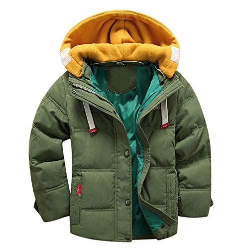 Naladoo Baby Girl Boy Stitching Button Hooded Coat