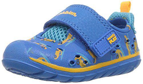 Stride Rite Boys' M2P Phibian Baby Sandal, Bluse