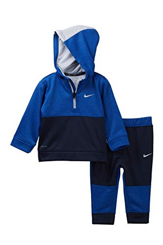 Nike Baby Boys 2-Pc. Therma Colorblocked Hoodie & Jogger Pants Set