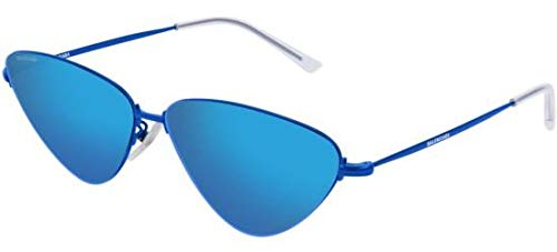 Balenciaga Sunglasses Blue Mirror(Double) Lens