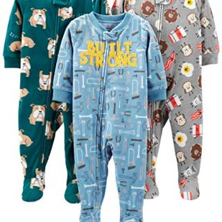 Simple Joys by Carter's Boys' 3-Pack Loose Fit Flame Resistant Fleece