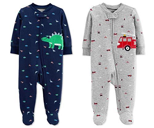 Carter's Baby Boys Footed Sleeper Cotton Sleep and Play Pajama