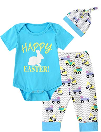 Mutiggee My First Easter Day 2019 Outfit Set Baby Boy Girls