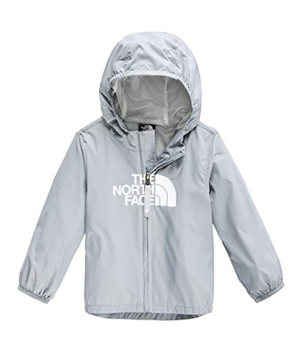 The North Face Infant Flurry Wind Jacket, Mid Grey, Size 6M