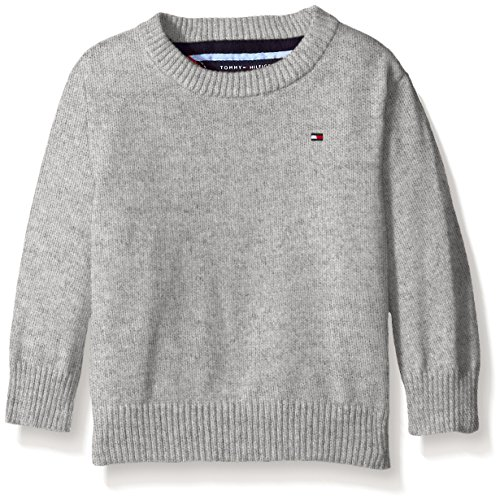 Tommy Hilfiger Baby Boys' Long Sleeve Alan Crew Neck Sweater