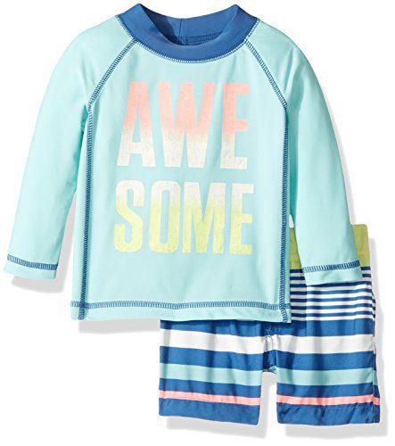 Carter's Boys' Swimwear, Mint, 6M