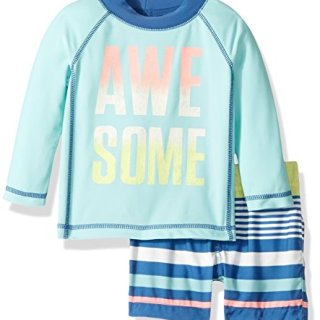 Carter's Boys' Swimwear, Mint, 6M