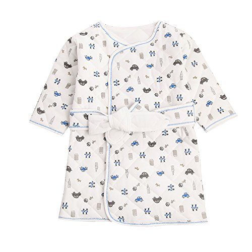 Liveinu Baby Boy Girls Bathrobe Winter Thicken Cartoon Printing
