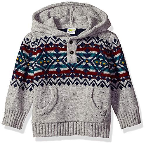 Crazy 8 Baby Boys Pullover Sweater, Granite Gray 6-12 mo