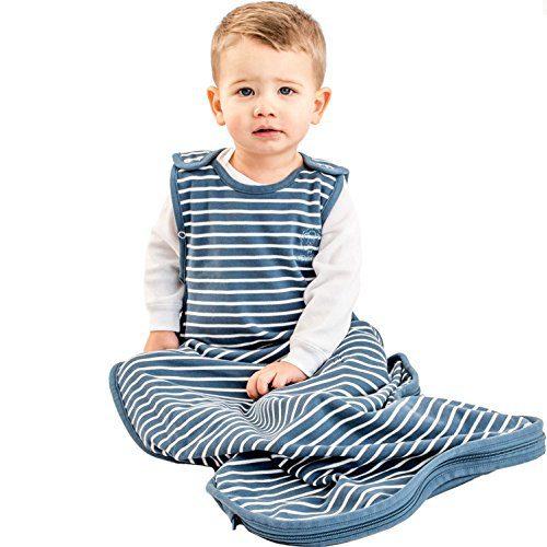 Woolino Toddler Sleeping Bag, 4 Season Merino Wool Baby Sleep Bag