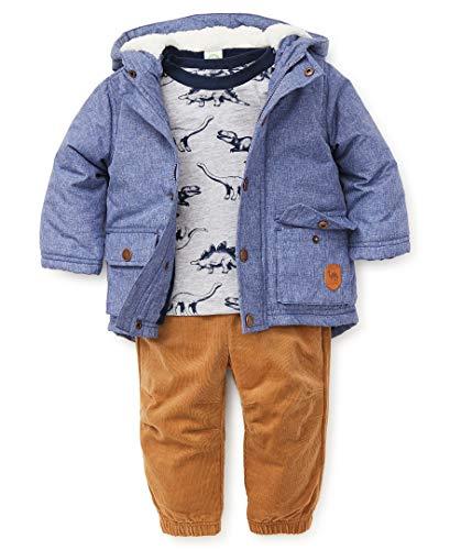 Little Me Baby Boy's Jacket Set Outerwear, dino light blue