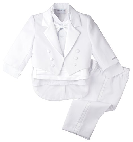 Spring Notion Baby Boys' White Classic Tuxedo