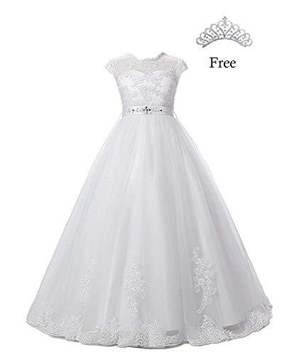 Magicdress White First Communion Baptism Dresses